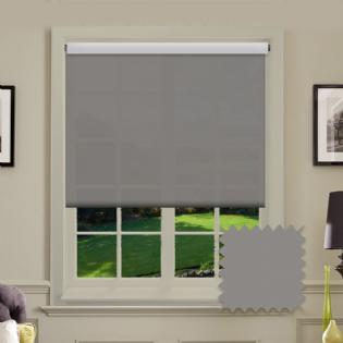 Grey Roller Blind - Astral Flint
